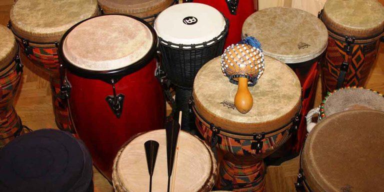 aprender percusión