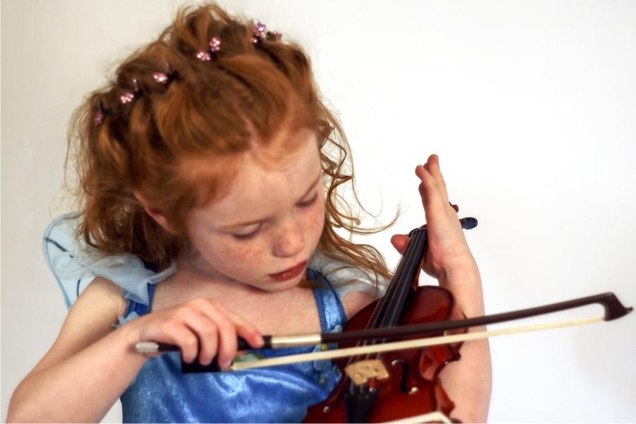 tocar violin aprender