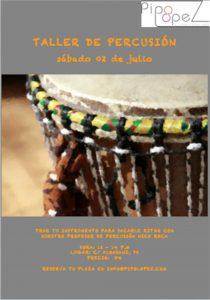 taller percusion sacale ritmo instrumento