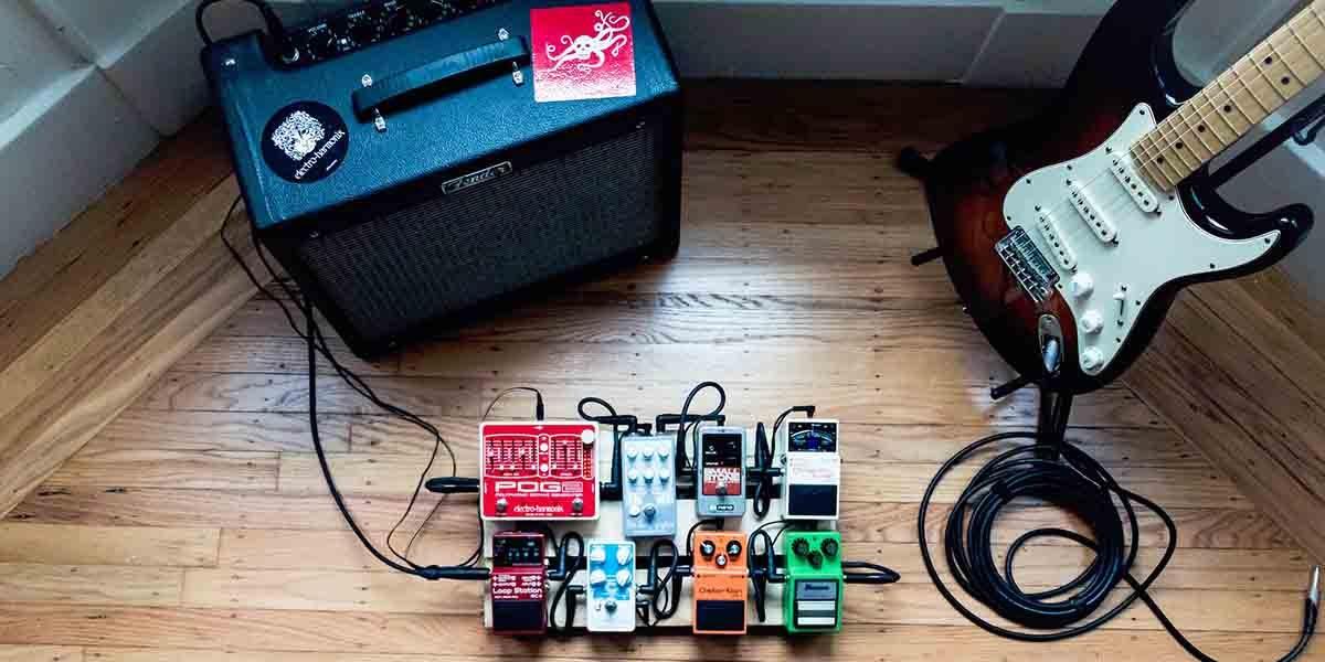 pedal modulación guitarra